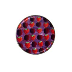Strawberries And Plums  Hat Clip Ball Marker (4 pack)