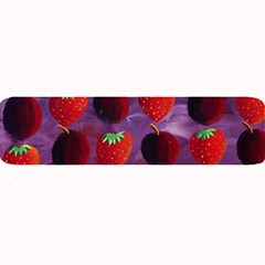 Strawberries And Plums  Large Bar Mats