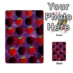 Strawberries And Plums  Multi Purpose Cards (rectangle)