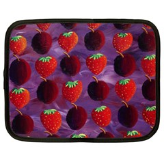 Strawberries And Plums  Netbook Case (XXL)