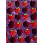 Strawberries And Plums  I Love You 3D Greeting Card (7x5)  Inside