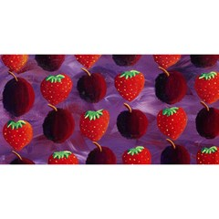Strawberries And Plums  YOU ARE INVITED 3D Greeting Card (8x4)