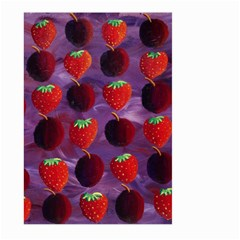 Strawberries And Plums  Large Garden Flag (two Sides)
