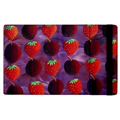 Strawberries And Plums  Apple iPad 2 Flip Case