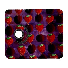 Strawberries And Plums  Samsung Galaxy S  III Flip 360 Case