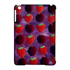Strawberries And Plums  Apple iPad Mini Hardshell Case (Compatible with Smart Cover)