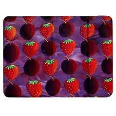 Strawberries And Plums  Samsung Galaxy Tab 7  P1000 Flip Case