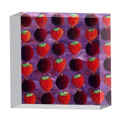 Strawberries And Plums  5  x 5  Acrylic Photo Blocks