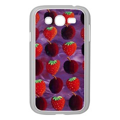 Strawberries And Plums  Samsung Galaxy Grand DUOS I9082 Case (White)