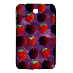 Strawberries And Plums  Samsung Galaxy Tab 3 (7 ) P3200 Hardshell Case