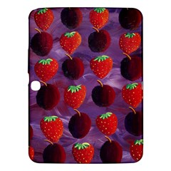Strawberries And Plums  Samsung Galaxy Tab 3 (10.1 ) P5200 Hardshell Case
