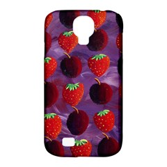 Strawberries And Plums  Samsung Galaxy S4 Classic Hardshell Case (PC+Silicone)