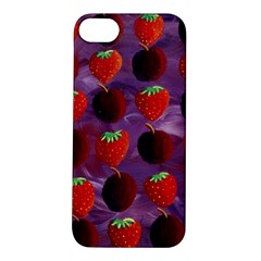 Strawberries And Plums  Apple iPhone 5S Hardshell Case