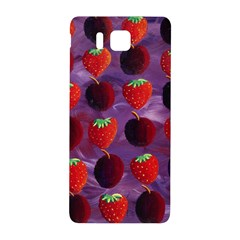 Strawberries And Plums  Samsung Galaxy Alpha Hardshell Back Case