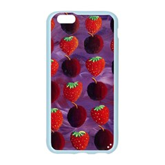 Strawberries And Plums  Apple Seamless iPhone 6/6S Case (Color)