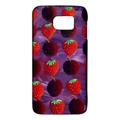 Strawberries And Plums  Galaxy S6