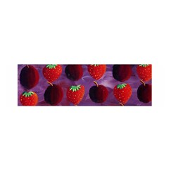 Strawberries And Plums  Satin Scarf (oblong)