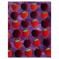 Strawberries And Plums  Drawstring Bag (Large)