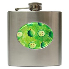 Apples In Halves  Hip Flask (6 oz)