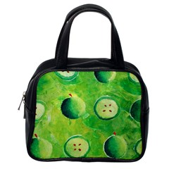 Apples In Halves  Classic Handbags (One Side)