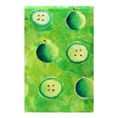 Apples In Halves  Shower Curtain 48  x 72  (Small)