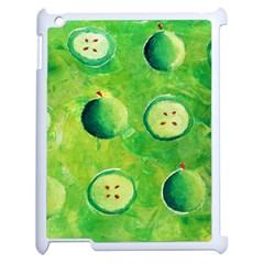 Apples In Halves  Apple iPad 2 Case (White)