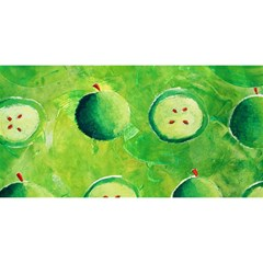 Apples In Halves  YOU ARE INVITED 3D Greeting Card (8x4)