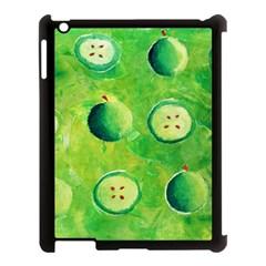 Apples In Halves  Apple iPad 3/4 Case (Black)