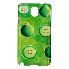 Apples In Halves  Samsung Galaxy Note 3 N9005 Hardshell Case