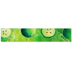 Apples In Halves  Flano Scarf (Large)