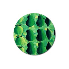 Apples Pears And Limes  Magnet 3  (Round)
