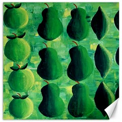 Apples Pears And Limes  Canvas 16  x 16