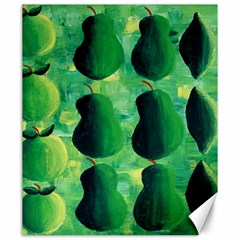 Apples Pears And Limes  Canvas 20  x 24
