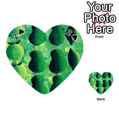 Apples Pears And Limes  Playing Cards 54 (Heart)
