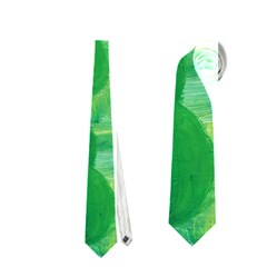 Apples Pears And Limes  Neckties (Two Side)
