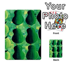 Apples Pears And Limes  Multi Purpose Cards (rectangle)