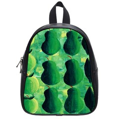 Apples Pears And Limes  School Bags (Small)