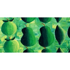Apples Pears And Limes  YOU ARE INVITED 3D Greeting Card (8x4)