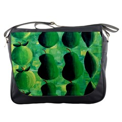 Apples Pears And Limes  Messenger Bags