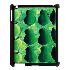 Apples Pears And Limes  Apple iPad 3/4 Case (Black)