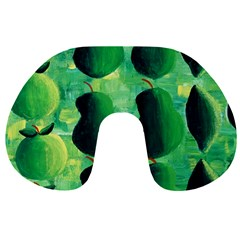 Apples Pears And Limes  Travel Neck Pillows