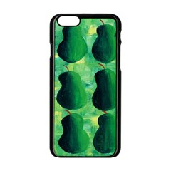 Apples Pears And Limes  Apple iPhone 6/6S Black Enamel Case