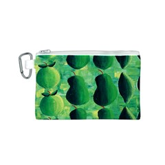 Apples Pears And Limes  Canvas Cosmetic Bag (S)