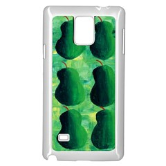 Apples Pears And Limes  Samsung Galaxy Note 4 Case (White)
