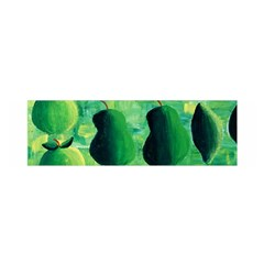 Apples Pears And Limes  Satin Scarf (oblong)