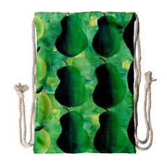 Apples Pears And Limes  Drawstring Bag (Large)