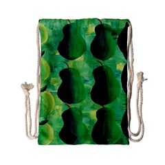 Apples Pears And Limes  Drawstring Bag (Small)
