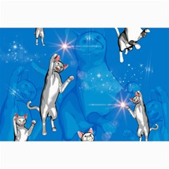 Funny, Cute Playing Cats With Stras Collage 12  X 18