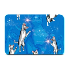 Funny, Cute Playing Cats With Stras Plate Mats