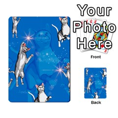 Funny, Cute Playing Cats With Stras Multi Purpose Cards (rectangle)